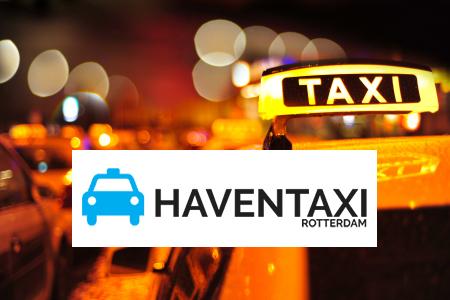 Taxi Pernis bestellen. Containerschip in de haven van Rotterdam Nederland